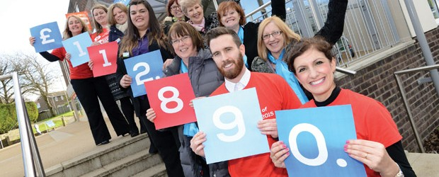 £113,000 to fight  teenage cancer