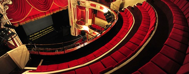 Curtain-up at the New Theatre Royal