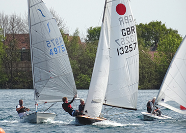 Push the boat out at and try sailing at Hykeham Sailing Club