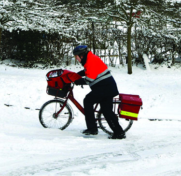 Whatever the weather, you can rely on Royal Mail's trusted postal delivery service.