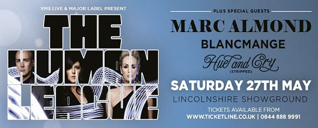 The Human League perform at the Lincolnshire Showground
