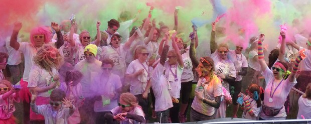 St Barnabas is set to host another sell-out colour dash with a twist in 2018